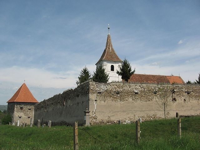 Fortified Church of Darjiu
